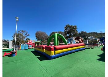 San Diego amusement park Inflatable World