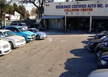 Pomona auto body shop Insurance Certified Auto Collision