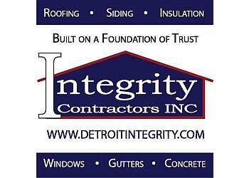 Detroit roofing contractor INTEGRITY CONTRACTORS, INC.