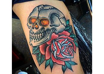 St Louis tattoo shop Iron Age Studios
