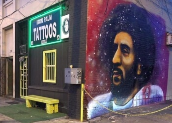 Atlanta tattoo shop Iron Palm Tattoos & Body Piercing