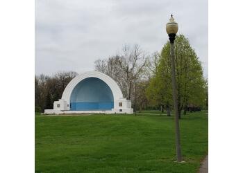 Dayton public park Island MetroPark