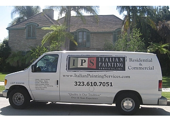 Los Angeles painter Italian Painting Services, inc.