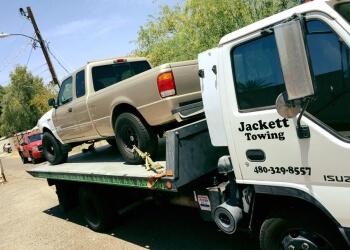 Tempe towing company Jackett Towing, LLC