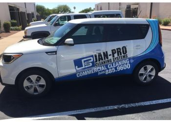 Tucson commercial cleaning service JAN-PRO