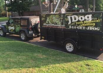 Shreveport junk removal JDog Junk Removal
