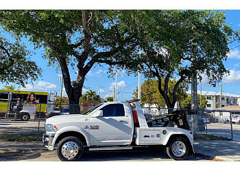Hialeah towing company J & F TOWING