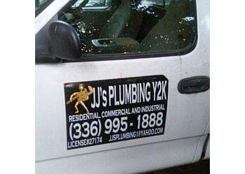 Winston Salem plumber JJ's Plumbing Y2K