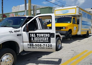 Miami towing company J & L TOWING & RECOVERY