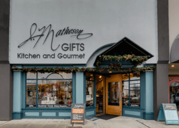 Everett gift shop J Matheson Gifts, Kitchen and Gourmet