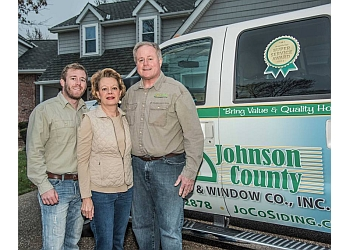 Olathe window company JOHNSON COUNTY SIDING & WINDOW CO, INC.
