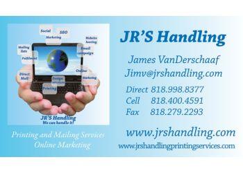 Lancaster printing service JR'S Handling