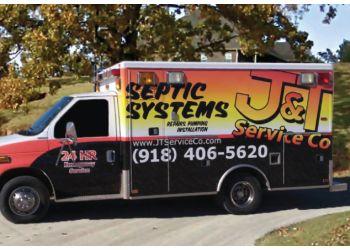 Tulsa septic tank service J & T SERVICE CO.