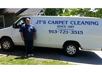 Kansas City carpet cleaner JT's Carpet Cleaning