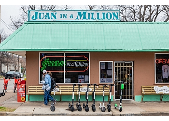 Austin mexican restaurant JUAN IN A MILLION