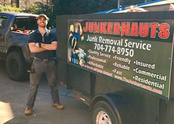 Charlotte junk removal JUNKERNAUTS, LLC.