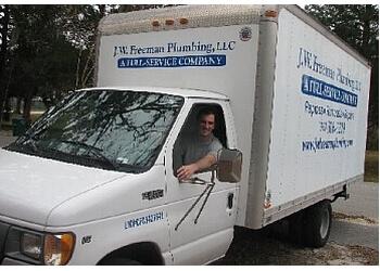 Gainesville plumber J. W. Freeman Plumbing, LLC