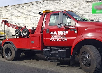 Oakland towing company Jacal Towing