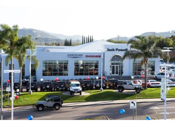 Escondido car dealership Jack Powell Chrysler Jeep Dodge RAM