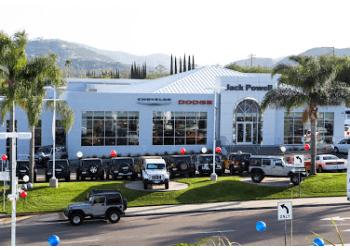 Escondido car dealership Jack Powell Chrysler Jeep Dodge RAM