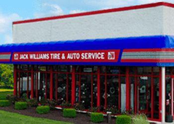 Allentown car repair shop Jack Williams Tire & Auto Service Centers