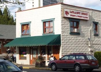 Eugene sports bar JACKALOPE LOUNGE SPIRITS & SPORTS SALOON