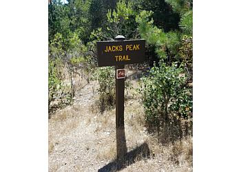 Salinas hiking trail Jacks Peak Park Trail