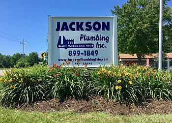 Erie plumber Jackson Plumbing Inc.