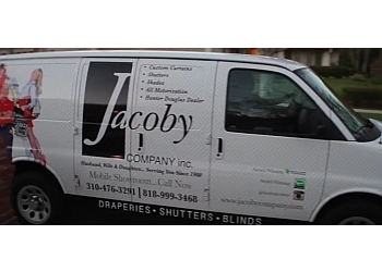 Los Angeles window treatment store JACOBY COMPANY INC.