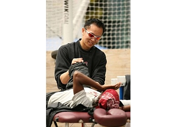 Fremont physical therapist Jacon C. Chun, MPT, SCS, ATC, CSCS