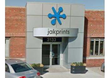 Cleveland printing service Jakprints, Inc.