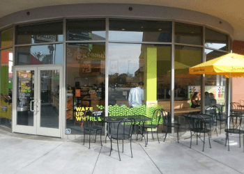 Orange juice bar Jamba juice