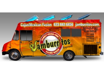 Phoenix food truck Jamburritos