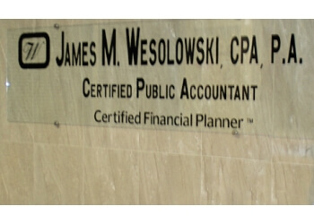 Cape Coral accounting firm James M. Wesolowski, CPA, P.A.