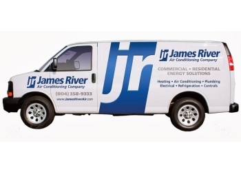 Richmond hvac service James River Air Conditioning Co.