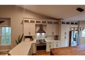 Raleigh custom cabinet Jameson Fine Cabinetry