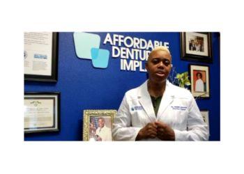 Newport News dentist Jamiah K. Dawson, DDS, MICOI, MAAIP - Affordable Dentures & Implants