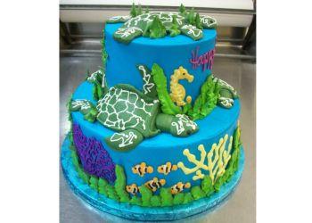 Corpus Christi cake Janet's Cakery