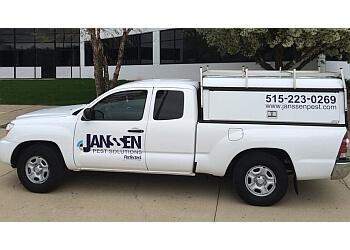 Des Moines pest control company Janssen Pest Solutions