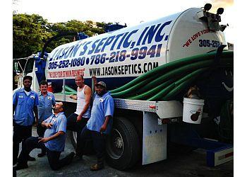 Miami septic tank service Jason's Septic Inc.