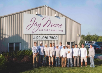 Omaha landscaping company Jay Moore Landscaping