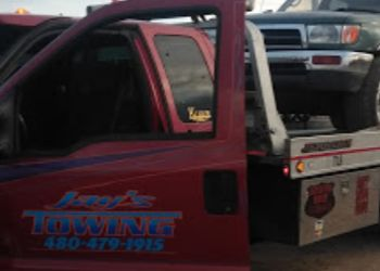 Chandler towing company Jay's Towing service