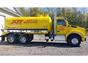 Buffalo septic tank service Jazz Excavating & Septic