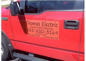 Rochester electrician Jeff Thomas Electric