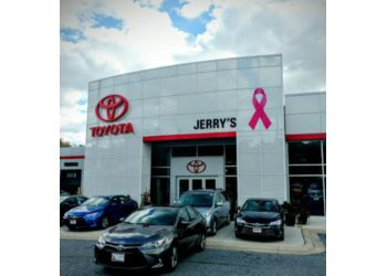 Baltimore car dealership Jerry's Toyota
