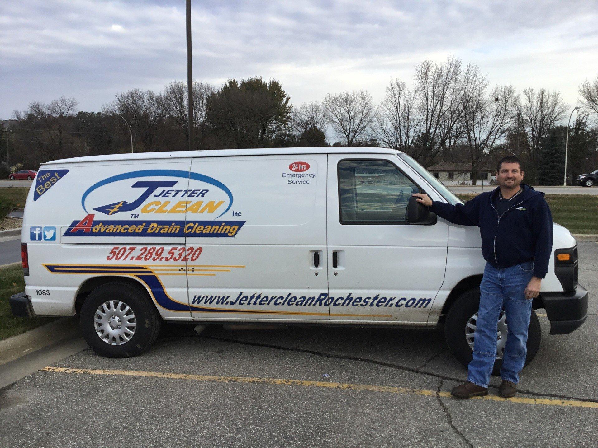 Rochester plumber Jetter Clean Inc.