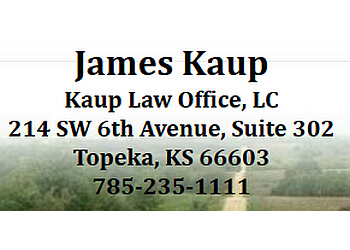 Topeka employment lawyer Jim Kaup