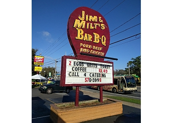 Tallahassee barbecue restaurant Jim and Milt's BBQ Restaurant