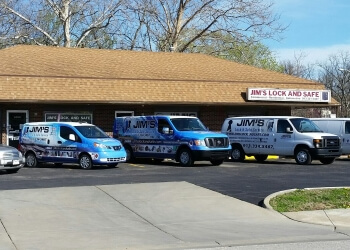 Kansas City locksmith Jim's Lock and Safe Service, Inc.