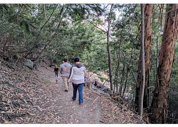 Oakland hiking trail Joaquin Miller Park Trail